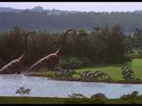 Вольер брахиозавров