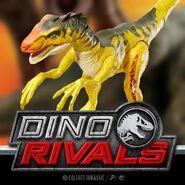 Dino Rivals Savage Strike Velociraptor 2