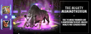 Mammotherium Announcement