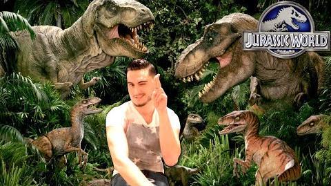 "Anthony Feliciano on ""Jurassic World"""