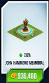John Memorial Card