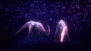 Bioluminiscentparasaurolophusatriver