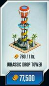 Jurassic-drop-tower