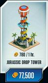 Jurassic-drop-tower