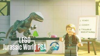 LEGO Jurassic World Keep Your Dinosaurs Safe PSA