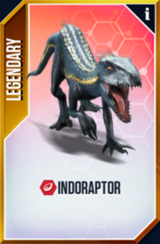 Jurassic World The Game SuperHybrid IndoRaptor 4