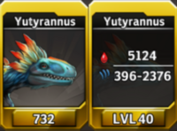 Yutyrannus Level 40 Tournament-Battle Arena Profile Picture