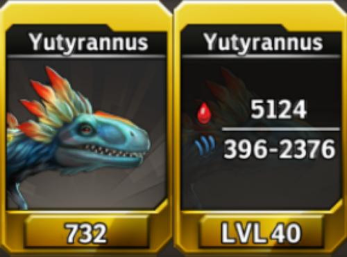 Yutyrannus Level 40 Tournament-Battle Arena Profile Picture