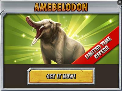 Jurassic Park Builder Amebelodon