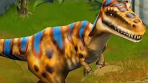 Jurassic Park Builder - Albertosaurus Jurassic Park