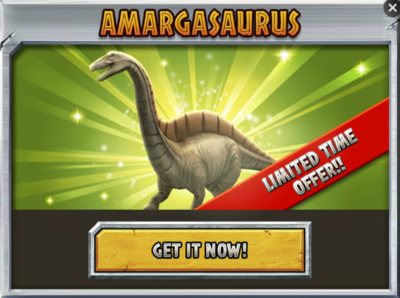 Amargasaurus Promo