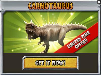Carnotaurus Promo