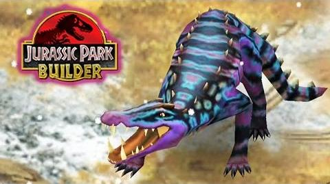 Jurassic Park Builder - Kaprosuchus Glacier World