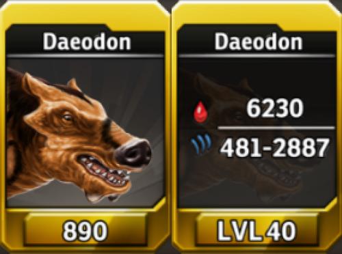 Daeodon Level 40 Tournament-Battle Arena Profile Picture
