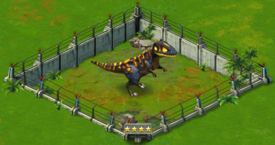 Carcharodontosaurus Level 40 2