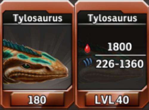Tylosaurus Level 40 Tournament-Battle Arena Profile Picture