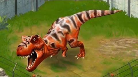 Jurassic Park Builder - Tyrannosaurus T-Rex Jurassic Park