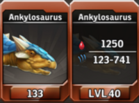 Ankylosaurus Level 40 Tournament-Battle Arena Profile Picture