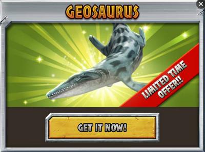 Geosaurus Promo