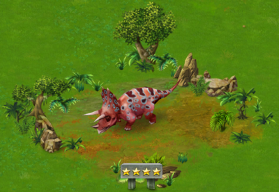 Triceratops Level 40 2