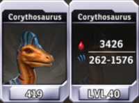Corythosaurus Level 40 Tournament-Battle Arena Profile Picture