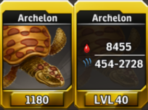 Archelon Level 40 Tournament-Battle Arena Profile Picture