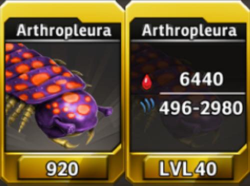 Arthropleura Level 40 Tournament-Battle Arena Profile Picture