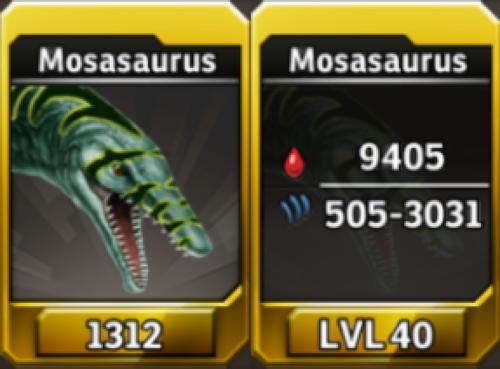 Mosasaurus Level 40 Tournament-Battle Arena Profile Picture