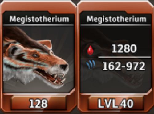 Megistotherium Level 40 Tournament-Battle Arena Profile Picture