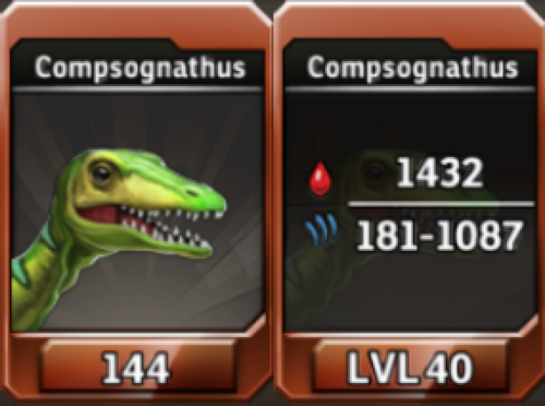 Compsognathus Level 40 Tournament-Battle Arena Profile Picture