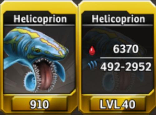 Helicoprion Level 40 Tournament-Battle Arena Profile Picture