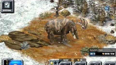 Jurassic Park Builder - Amebelodon Glacier Park Limited