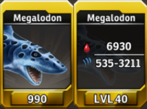 Megalodon Level 40 Tournament-Battle Arena Profile Picture