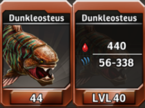 Dunkleosteus Level 40 Tournament-Battle Arena Profile Picture