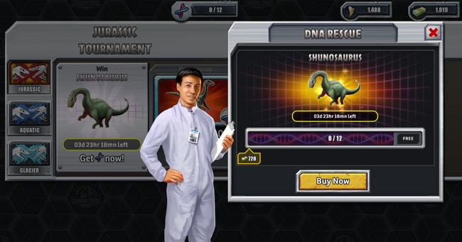 Shunosaurus DNA Tournament PC Screenshot