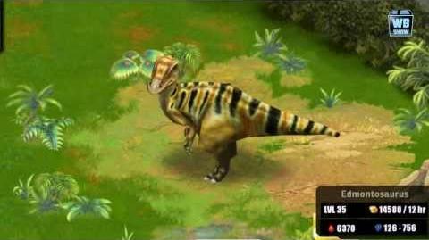 Jurassic Park Builder - Edomontosaurus Jurassic Park