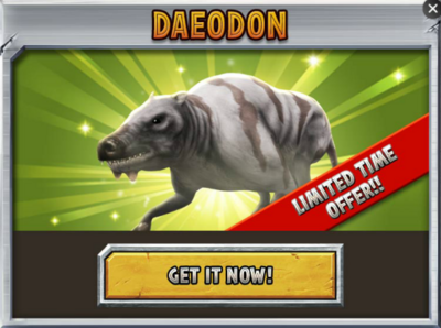 Daeodon Promo