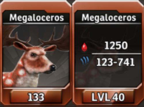 Megaloceros Level 40 Tournament-Battle Arena Profile Picture