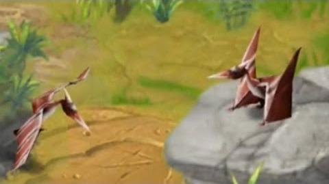 Jurassic Park Builder - Pterodactylus Jurassic Park