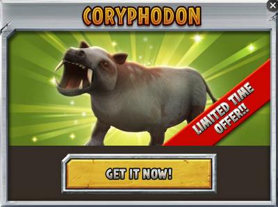 Coryphodon Promo