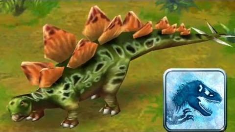 Jurassic Park Builder - Stegosaurus Jurassic Park