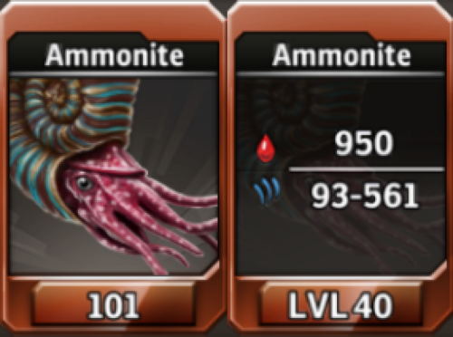 Ammonite Level 40 Tournament-Battle Arena Profile Picture