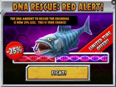 Enchodus DNA Rescue Red Alert! Promo