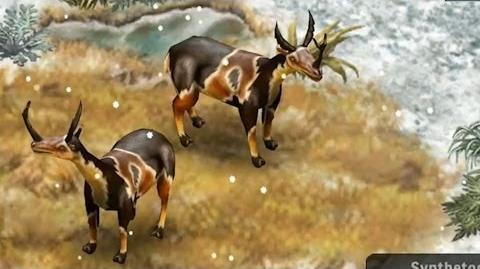 Jurassic Park Builder - Synthetoceras Glacier Park LIMITED