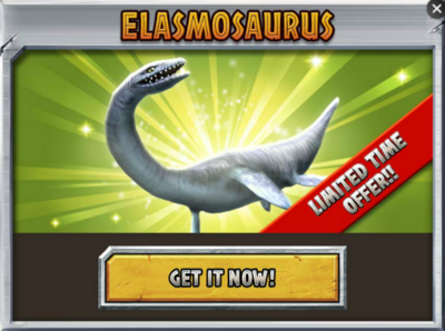 Elasmosaurus Promo