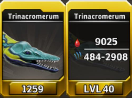 Trinacromerum Level 40 Tournament-Battle Arena Profile Picture