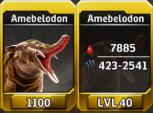Amebelodon Level 40 Tournament-Battle Arena Profile Picture