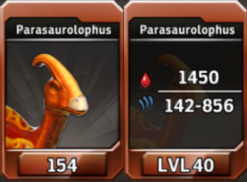 Parasaurolophus Level 40 Tournament-Battle Arena Profile Picture