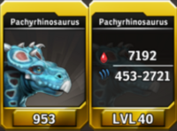 Pachyrhinosaurus Level 40 Tournament-Battle Arena Profile Picture