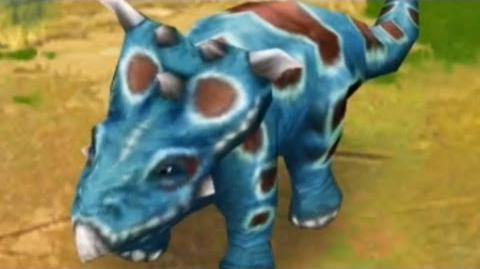Jurassic Park Builder - Pachyrhinosaurus Jurassic Park
